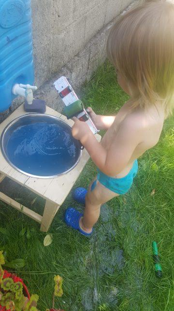 Apa magica din Gradina Copiilor